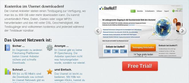 Usenet Test